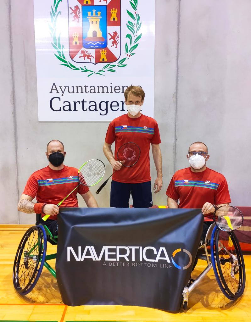 navertica csr spolecenska zodpovednost company social responsibility para badminton cartagena 2021 tournament all team